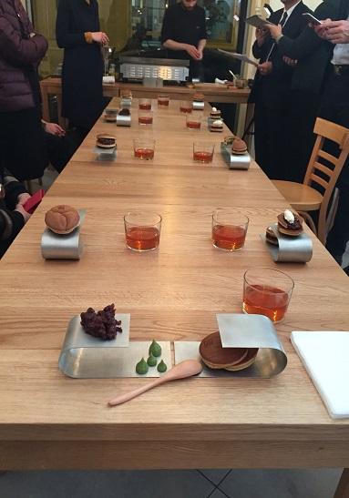 Japon, Villa Kujoyama, Anne Xiradakis, Patisserie Tomo, Wagashi, Café éphémère