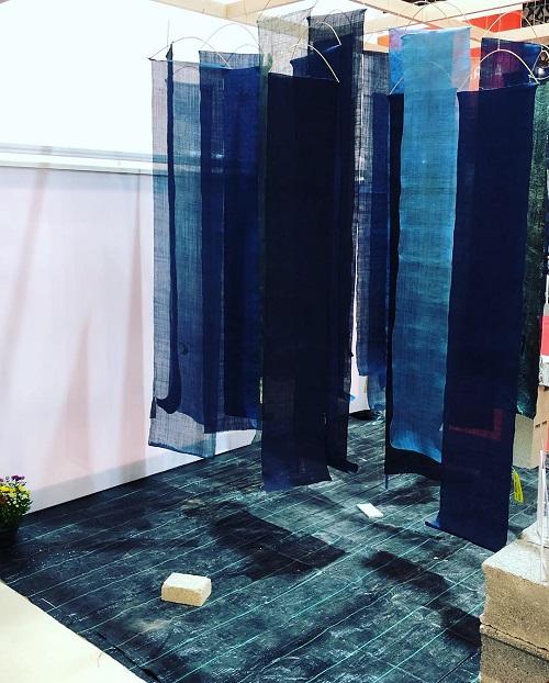La Villa Kujoyama présente une exposition en collaboration avec Maison d'Exceptions au Salon international de textile et de mode Première Vision.
