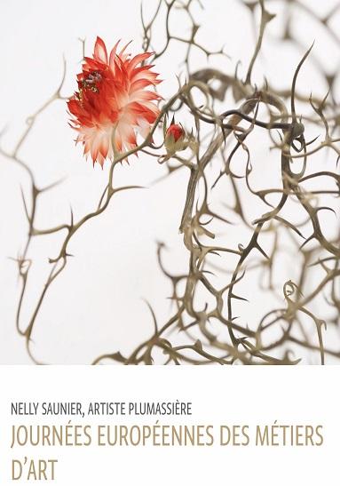 nelly saunier, musée de la chasse et de la nature, JEMA, INMA, Villa Kujoyama, Fondation Bettencourt Schueller, Métiers d'Art, plumaserie